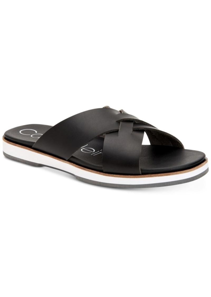 1678cb671e5 Calvin Klein Calvin Klein Men s Dagan Slide Sandals Men s Shoes