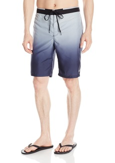 Calvin Klein Men's Degrade Stripe E-Board Swim Short