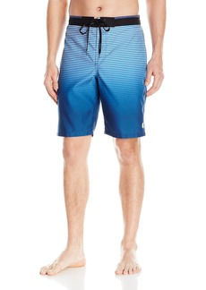 Calvin Klein Men's Degrade Stripe E-Board Swim Short
