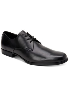 Calvin Klein Men's Dillinger Crust Leather Oxfords Men's Shoes