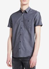 Calvin Klein Men's Dobby Diamond Shirt