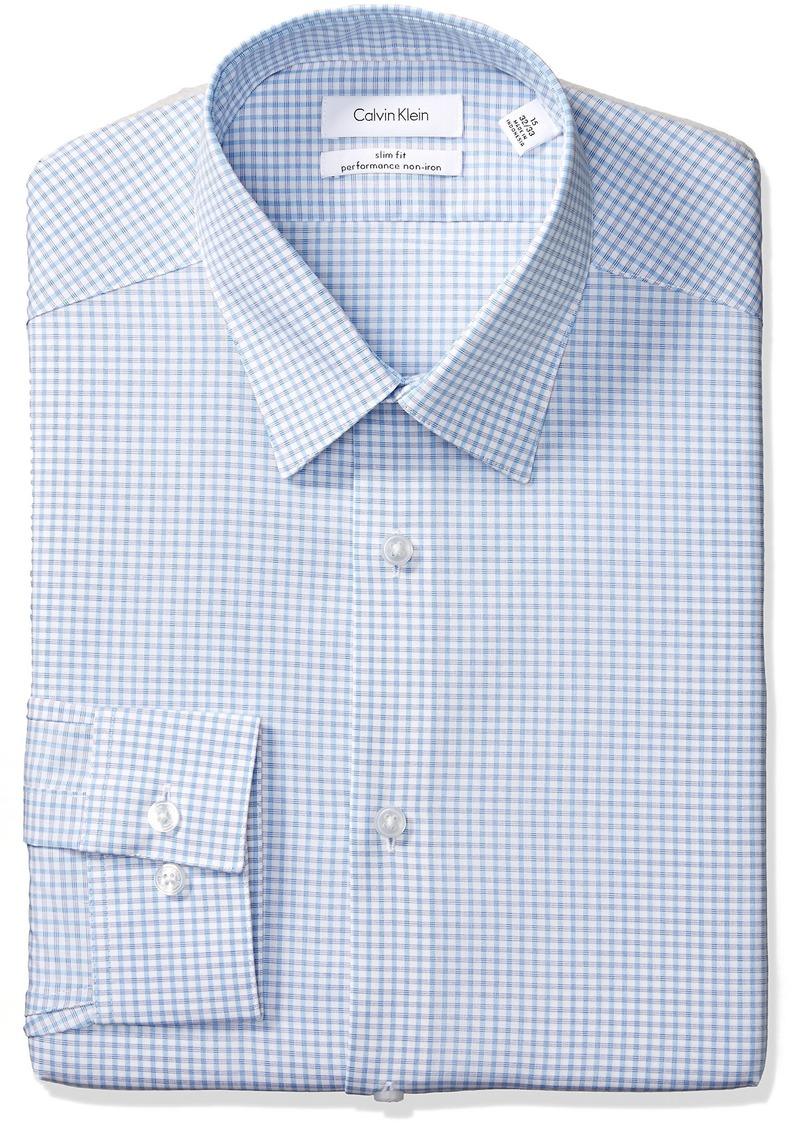38f221c756 Calvin Klein White Slim Fit French Cuff Dress Shirt - Gomes Weine AG