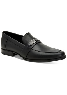 Calvin Klein Men's Drystan Scotch Grain Leather Loafers Men's Shoes