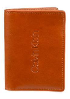 Calvin Klein Men's Duofold Slim Wallet