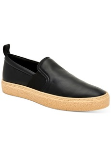 Calvin Klein Men's Emmett Small Grain Slip-On Sneakers Men's Shoes