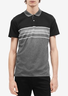 Calvin Klein Men's Engineered Colorblocked Polo