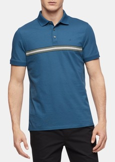 Calvin Klein Men's Engineered Stripe Polo Shirt