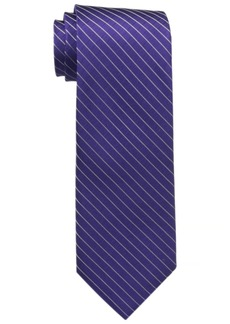 Calvin Klein Men's Etched Windowpane A Tie