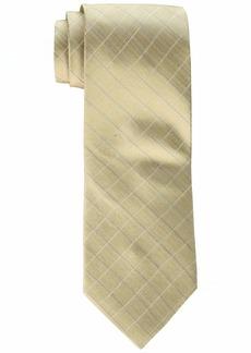 Calvin Klein Men's Etched Windowpane B Tie   One Size
