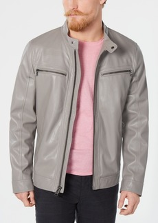 Calvin Klein Men's Faux Leather Jacket