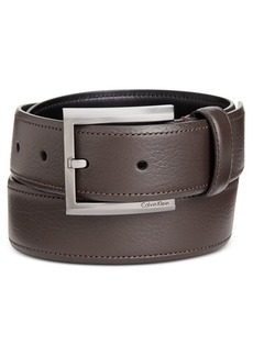 Calvin Klein Men's Feather-Edge Dress Belt