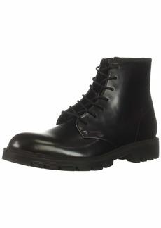 Calvin Klein Men's Fenton Box Leather Combat Boot   M US