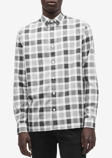Calvin Klein Men's Flannel Buffalo Plaid Shirt