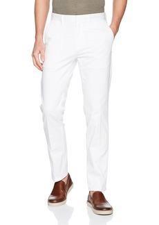 Calvin Klein Men's Flat Front Sateen Trouser Pant  36W X 34L