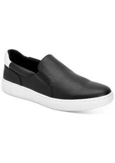 Calvin Klein Men's Fortun Tumbled Smooth Slip-on Sneakers Men's Shoes