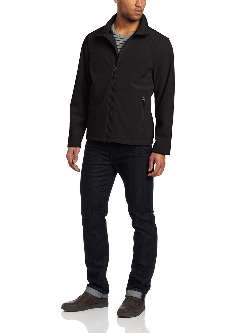 Calvin Klein Men's Front Zip Softshell Jacket
