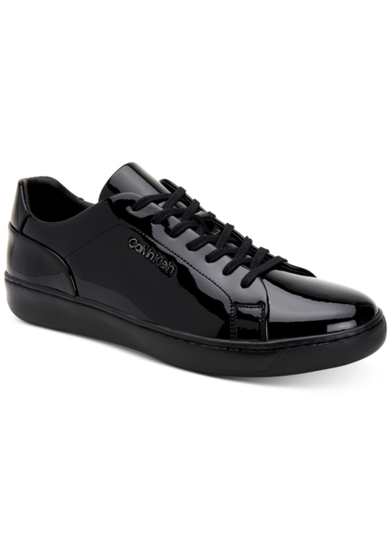 Calvin Klein Men's Fuego Patent Tennis Fashion Sneakers Men's Shoes