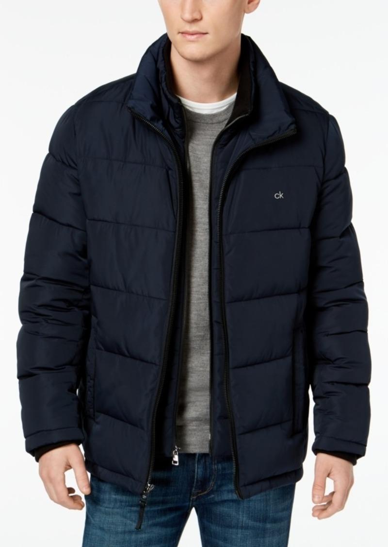 Calvin Klein Men's Full-Zip Puffer Coat, Created for Macy's