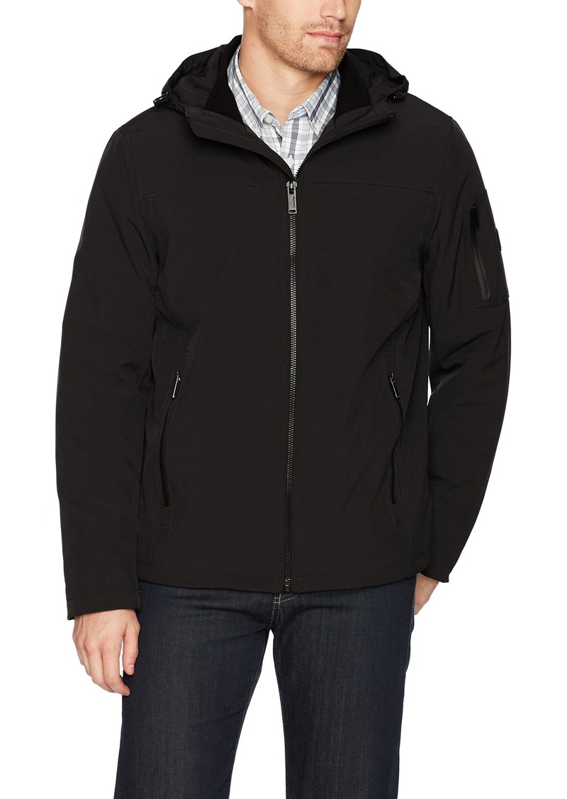 Calvin Klein Men's Functional Stretch Sherpa Lined Jacket