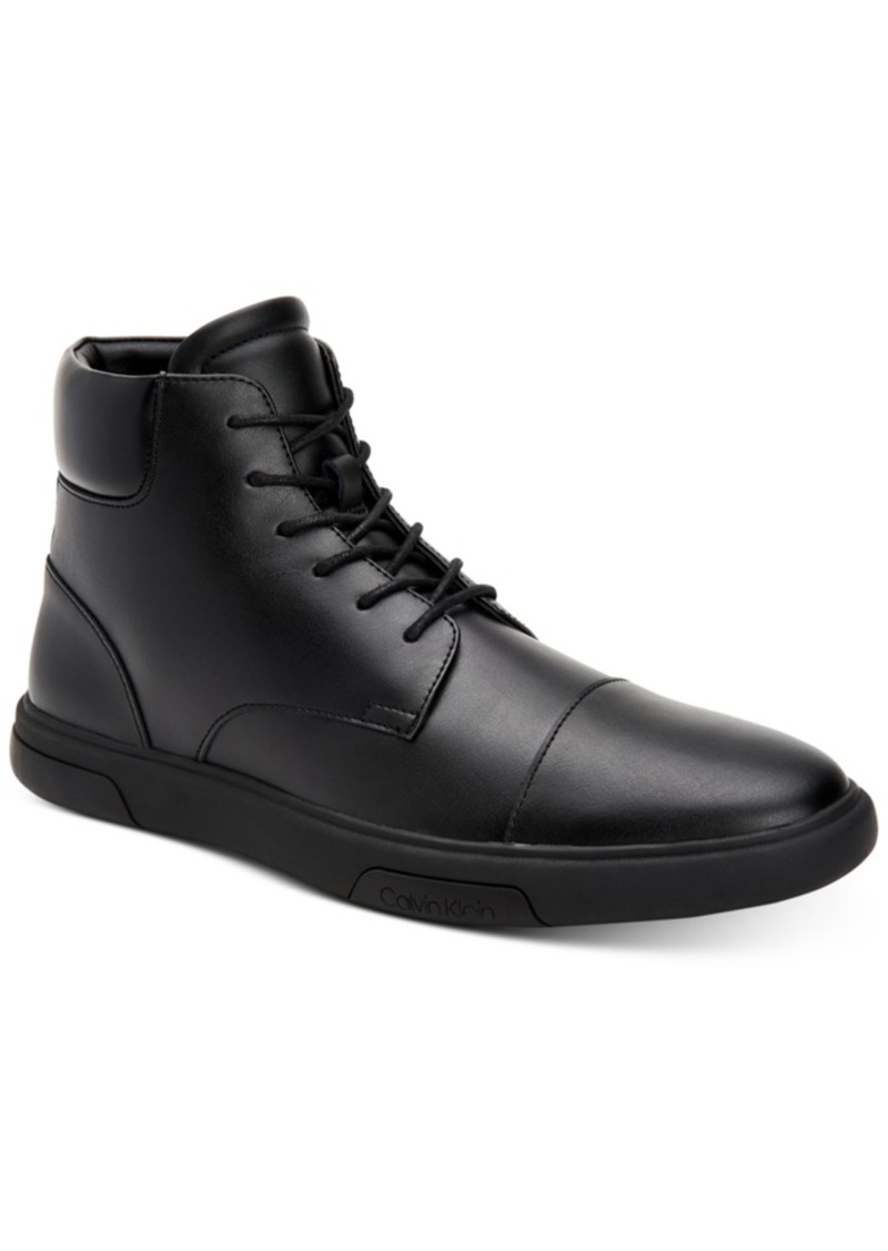 Calvin Klein Men's Glennon High-Top Fashion Sneakers Men's Shoes