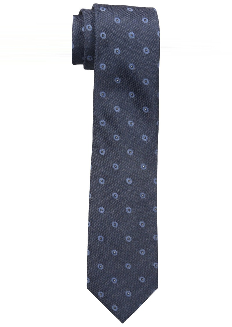 Calvin Klein Men's  Gold Dot Slim Tie