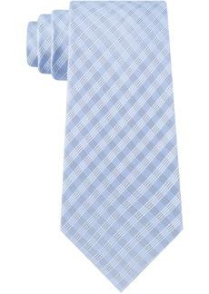 Calvin Klein Men's Grid Dots Skinny Tie