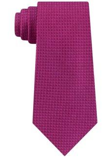 Calvin Klein Men's Half Diamond Dot Silk Tie