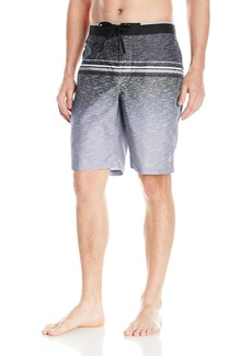 Calvin Klein Men's Heather Stripe E-Board Swim Short