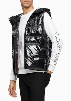Calvin Klein Men's Hooded Puffer Vest