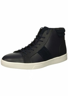Calvin Klein Men's IGNOTUS Smooth Calf Sneaker   M US