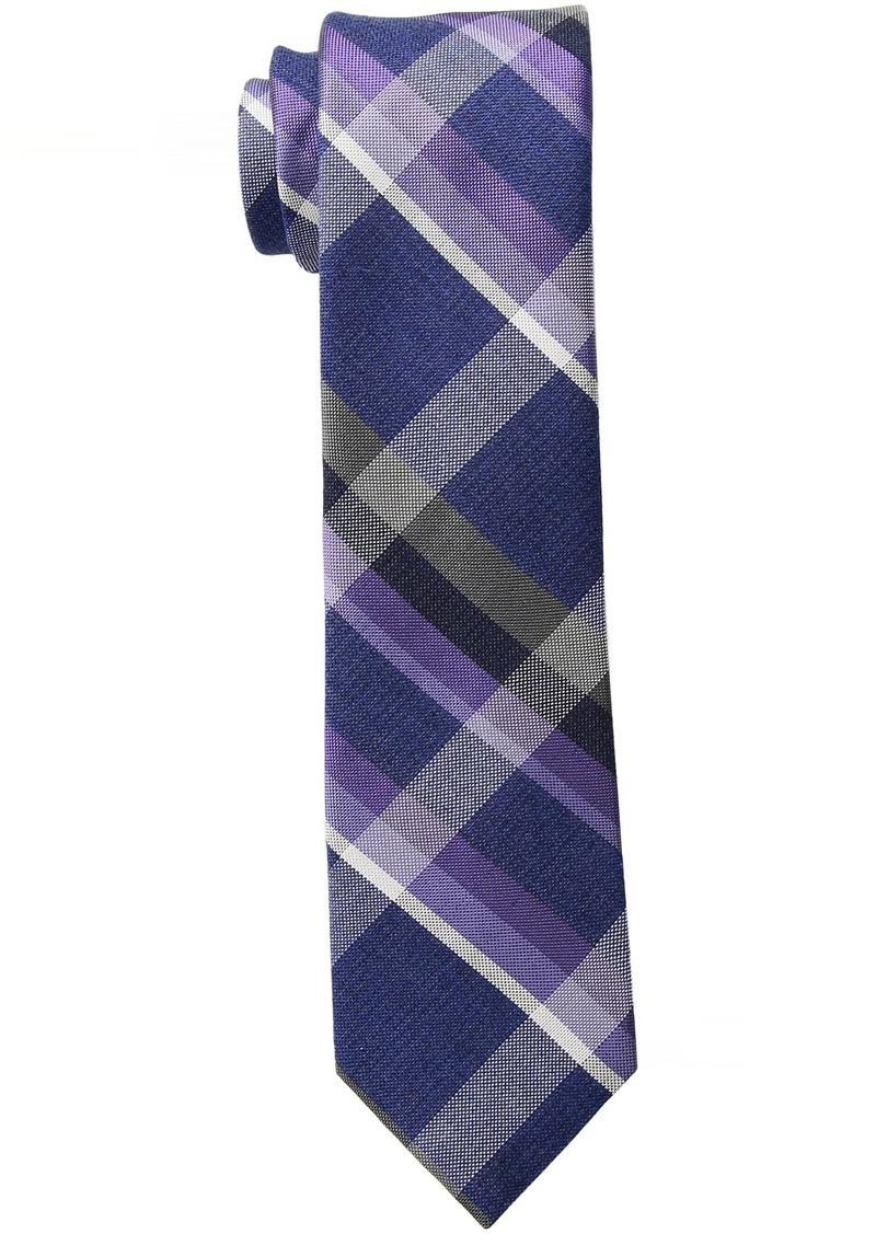 Calvin Klein Men's Indigo Pop Woven Slim Tie