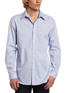 Calvin Klein Men's Check Long Sleeve Non-Iron Button Down Shirt 2X-Large