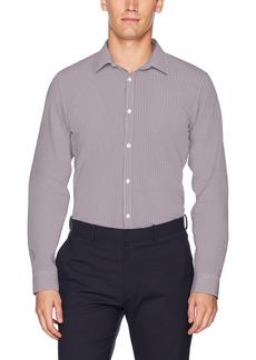 Calvin Klein Men's Infinite Cool Stripe Button Down Shirt
