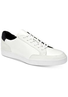 Calvin Klein Men's Izar Leather Sneakers Men's Shoes