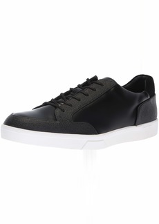 Calvin Klein Men's IZAR Scotch Grain/Box Leather Sneaker  7 M M US