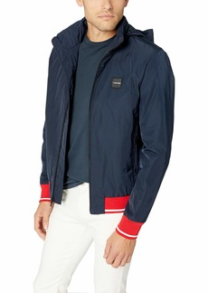 Calvin Klein Men's Jacket with Contrast Ribbing and Tipping  2X-Large