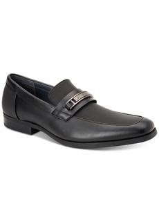 Calvin Klein Men's Jameson Soft Leather Loafers Men's Shoes