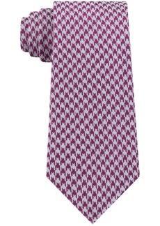 Calvin Klein Men's Jewel Slim Houndstooth Tie