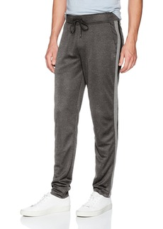 Calvin Klein Men's Knit Pant with 2 Tone Side Piecing  M