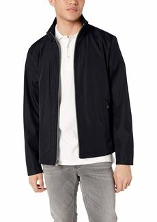 Calvin Klein Men's Lightweight Open Bottom Polyester Jacket  S