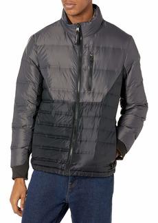 Calvin Klein Men's Lightweight Water Resistant Packable Down Puffer Jacket (Standard and Big & Tall)