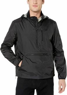 Calvin Klein Men's Lightweight Wind Sleeker Pop Over Jacket
