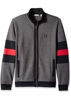Calvin Klein Men's Lightweight Zip Up Weekend Layered Sweater