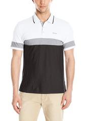 Calvin Klein Men's Liquid Cotton Polo  Small