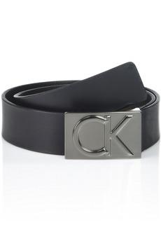 Calvin Klein Men's Logo Buckle Belt