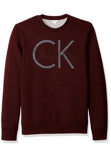 Calvin Klein Men's Logo Crew Neck Sweatshirt