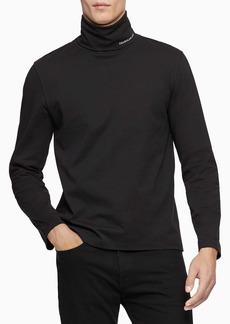 Calvin Klein Men's Logo Long Sleeve Turtleneck