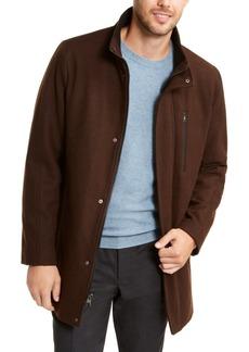 Calvin Klein Men's Big & Tall Long Open Bottom Overcoat, Created for Macy's