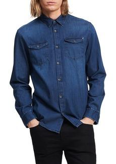 Calvin Klein Jeans Men's Long Sleeve Basic Denim Shirt