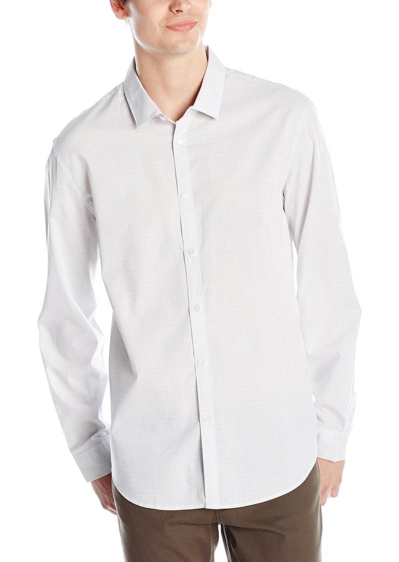 Calvin Klein Calvin Klein Men 39 S Long Sleeve Crosshatch
